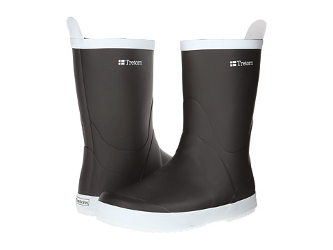 Tretorn - Wings (Black) Rain Boots