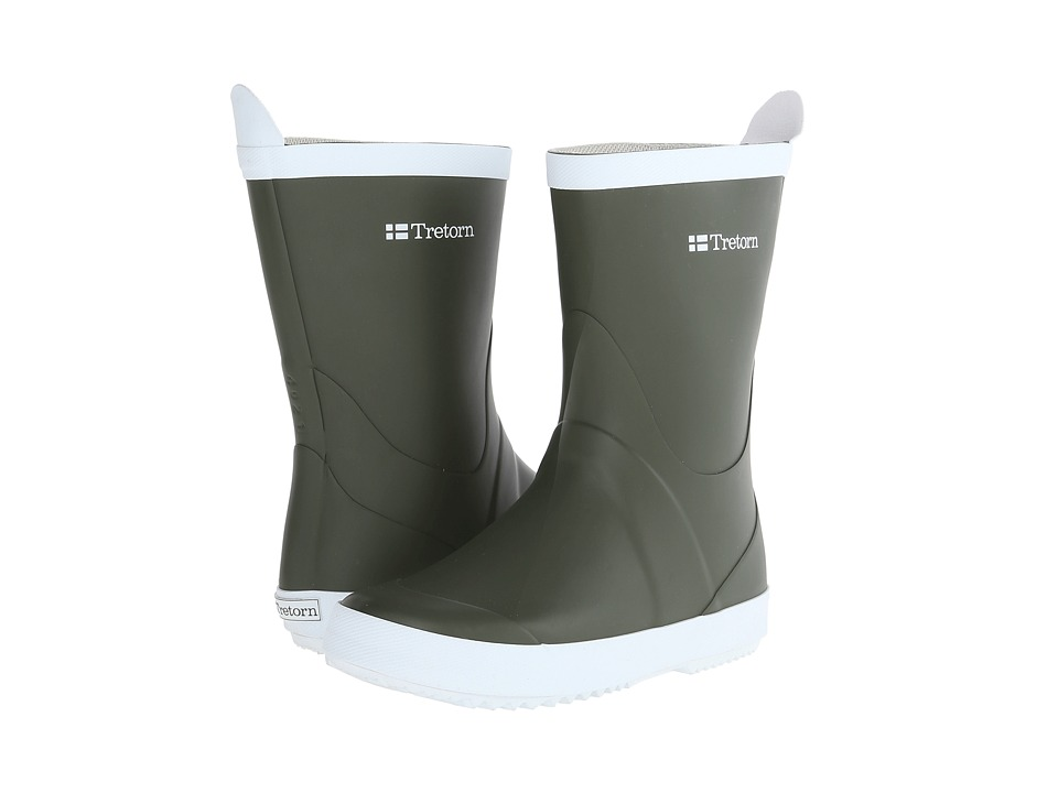 Tretorn - Wings (Green) Rain Boots