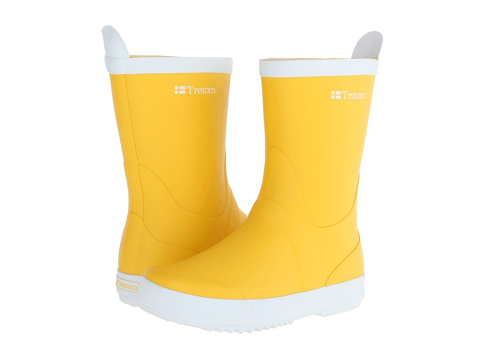 Tretorn - Wings (Yellow) Rain Boots