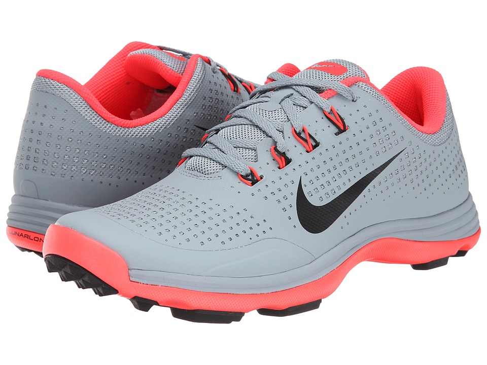 Nike Golf - Nike Lunar Cypress (Dove Grey/Bright Crimson/Black) Men's Golf Shoes