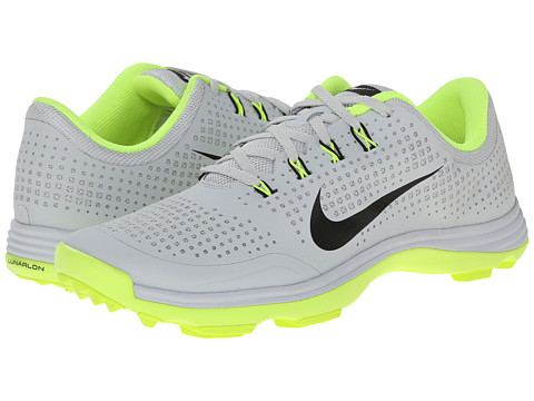 Nike Golf - Nike Lunar Cypress (Pure Platinum/Volt/Black) Men