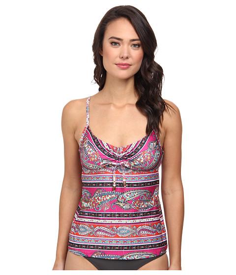 Lucky Brand - Bohemian Delight Tankini (Multi) Women's Swimwear