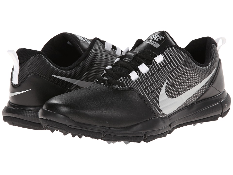 Nike Golf - Explorer SL (Black/Cool Grey/Metallic Silver) Men's Golf Shoes