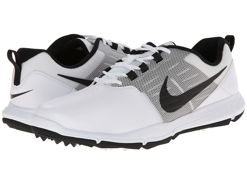 Nike Golf - Explorer SL (White/Pure Platinum/Black) Men's Golf Shoes