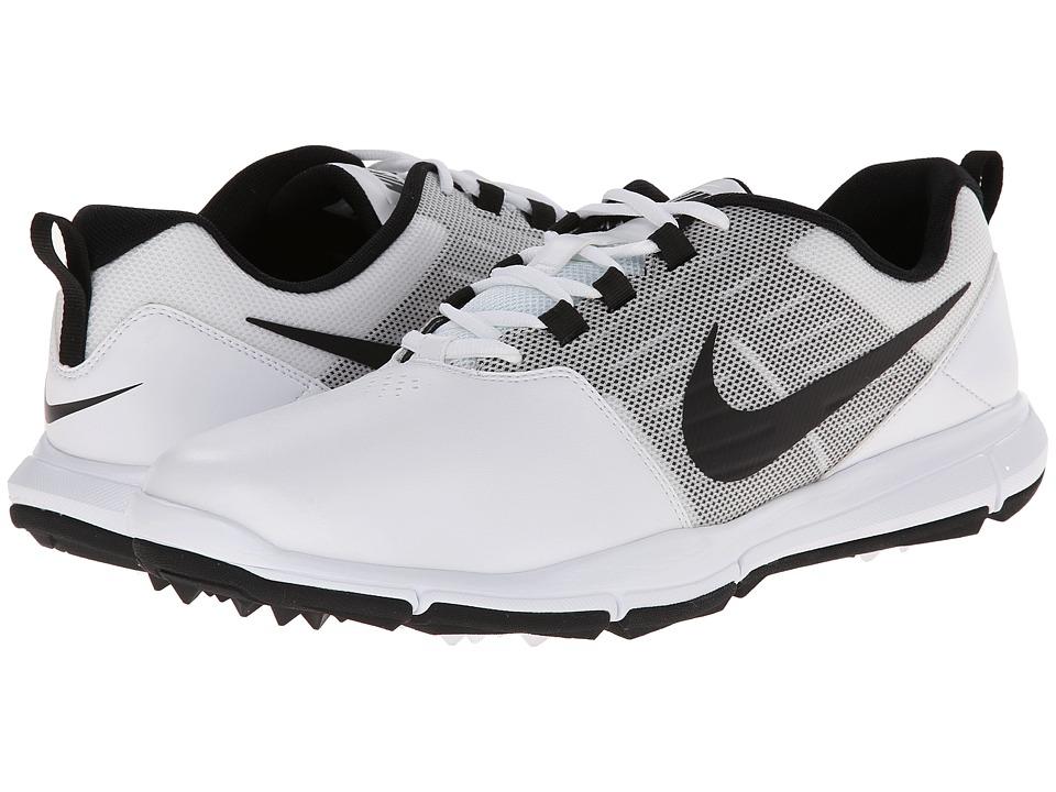 Nike Golf - Explorer SL (White/Pure Platinum/Black) Men's Golf Shoes