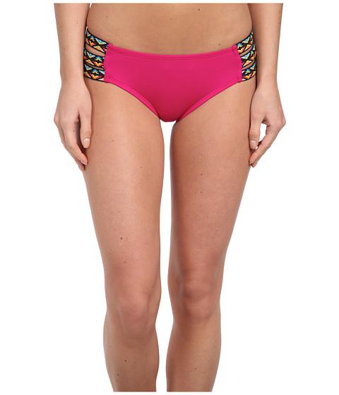 Lucky Brand - Sahara Hipster (Magenta) Women's Swimwear