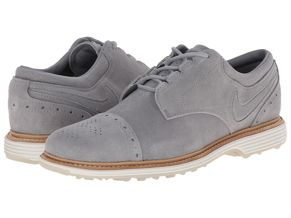 Nike Golf - Lunar Clayton (Wolf Grey/Summit White/Wolf Grey) Men's Golf Shoes