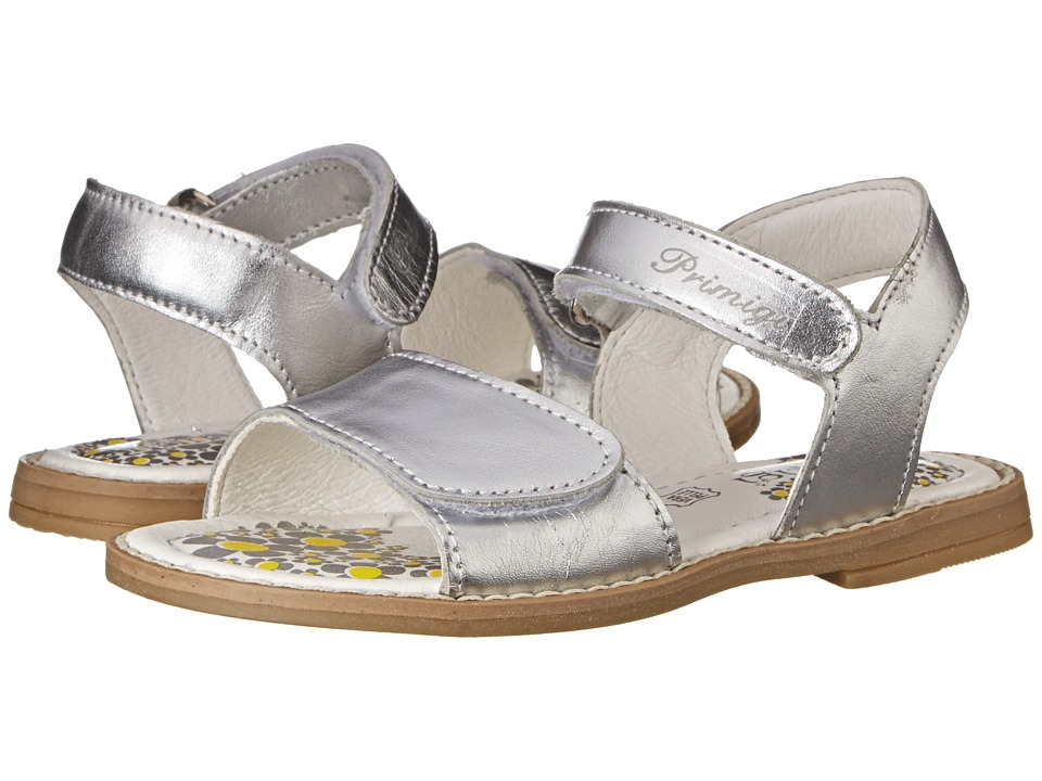 Primigi Kids - Fuji (Toddler/Little Kid) (Silver) Girl's Shoes