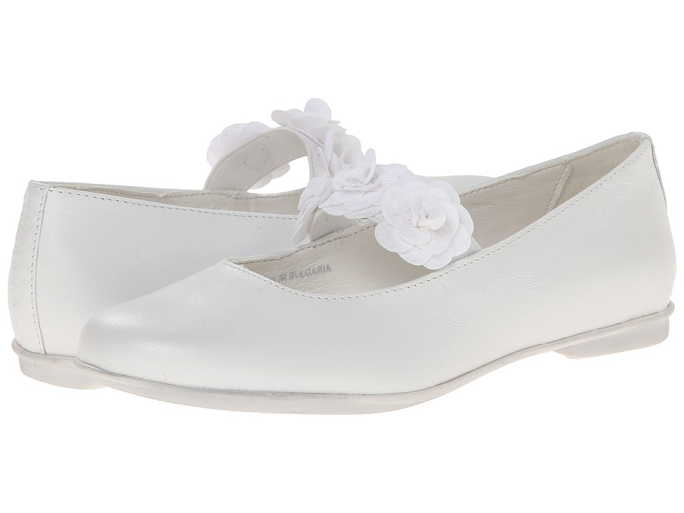 Primigi Kids - Vega (Little Kid) (White) Girl's Shoes