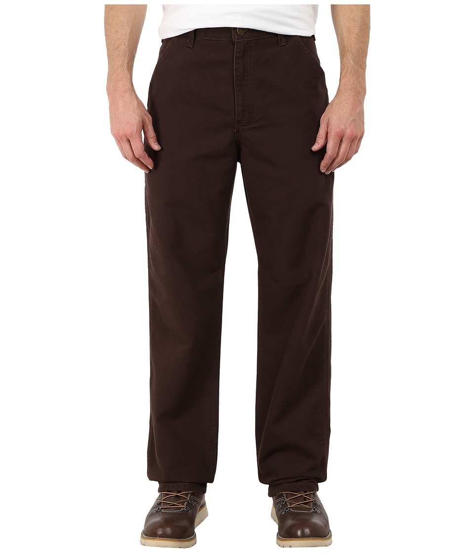 Carhartt - Washed Duck Work Dungaree (Dark Brown) Men's Clothing