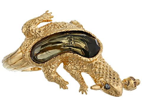 Alexander McQueen - Salamander Ring (Topaz/Silver) Ring