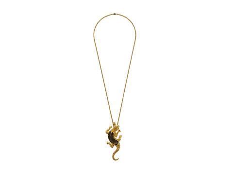 Alexander McQueen - Reptile Pendent (Topaz/Silver) Necklace