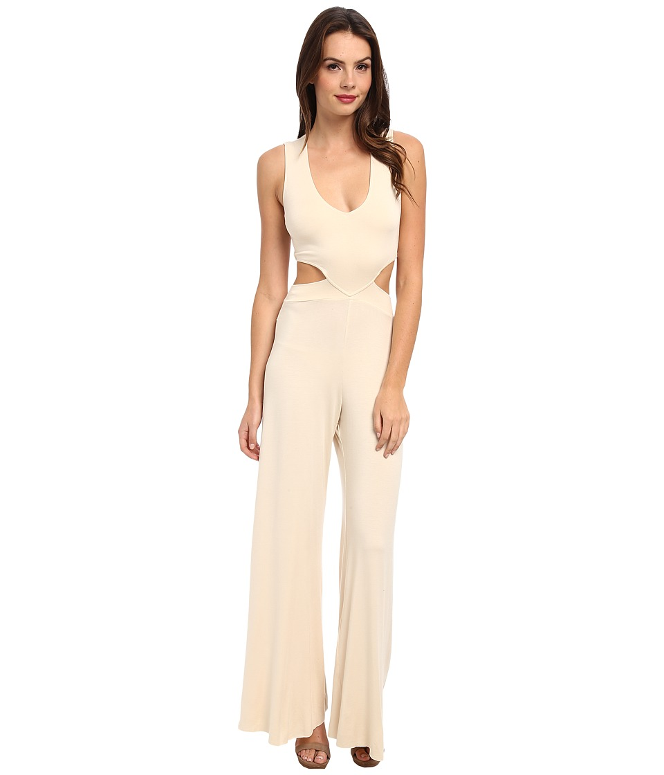 Rachel Pally - Crosby Jumpsuit (Cream) Women's Jumpsuit & Rompers One Piece