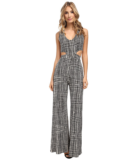Rachel Pally - Crosby Jumpsuit Print (Black Sisal) Women's Jumpsuit & Rompers One Piece