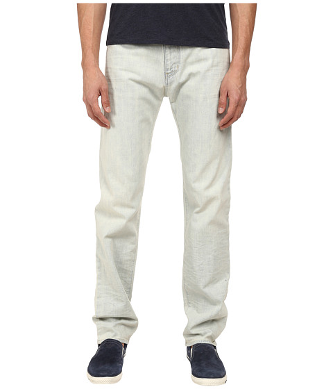 Armani Jeans - Regular Fit Bleached Denim in Bleached (Bleached) Men