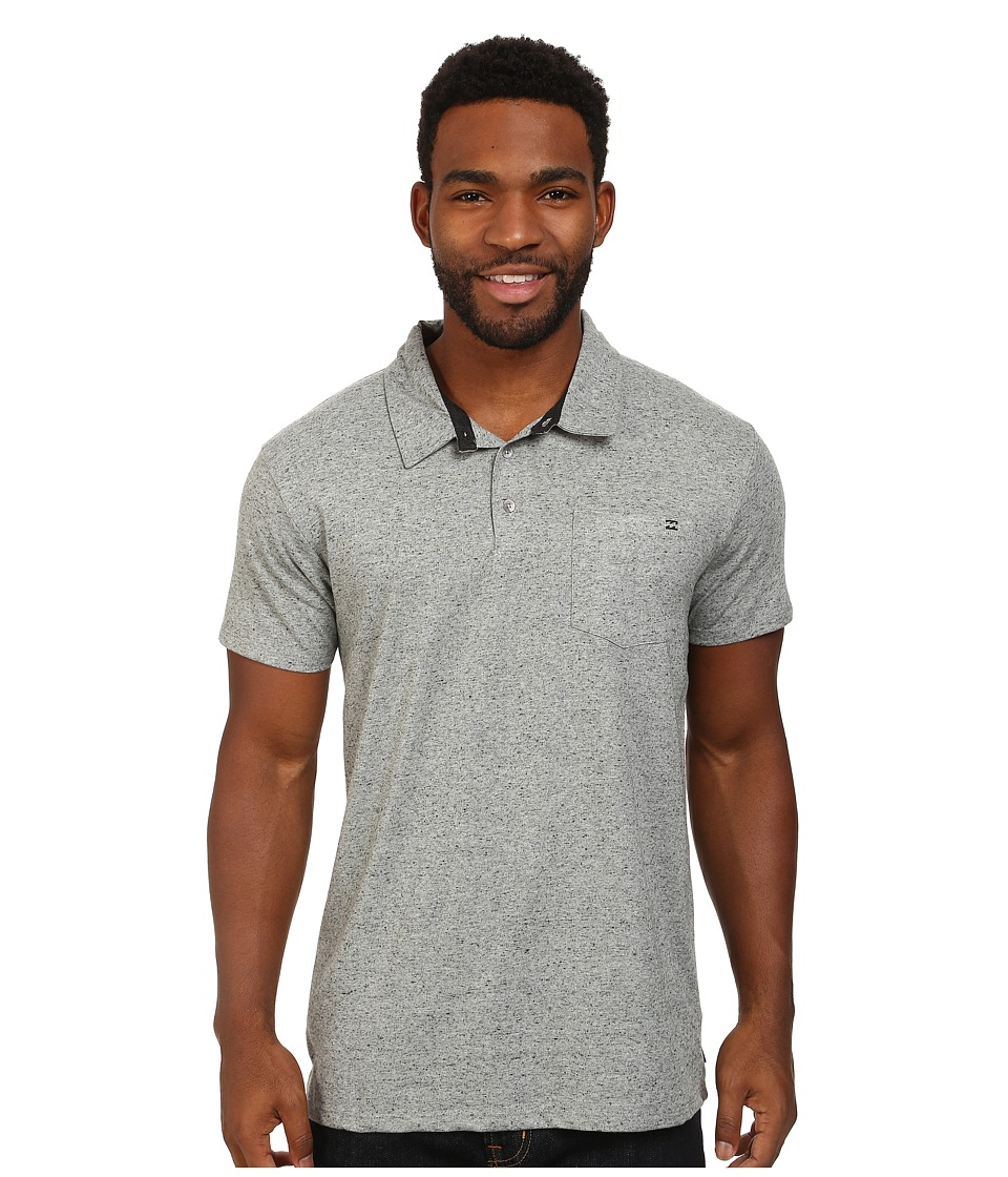 Billabong - Standard Polo (Grey Heather) Men's Short Sleeve Knit