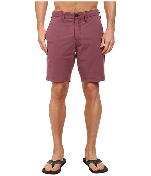 Billabong - New Order X Overdye 19 Hybrid Short (Burgundy) Men