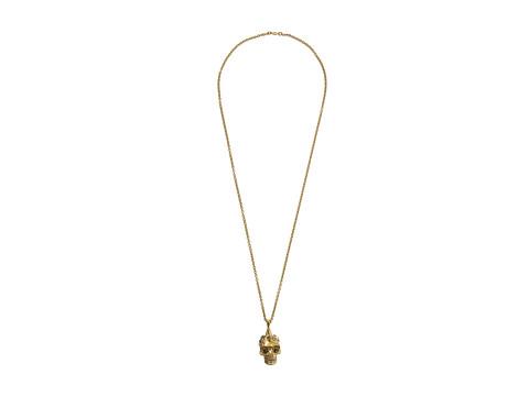 Alexander McQueen - Punk Skull Pendant (Topaz) Necklace