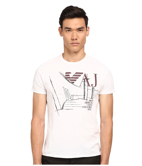 Armani Jeans - Urbanism Tee (White) Men