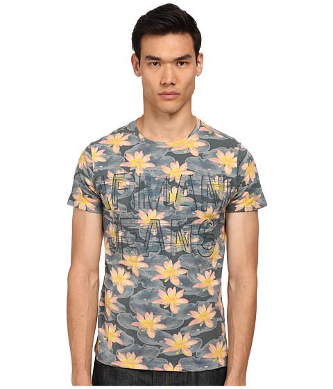 Armani Jeans - Multicolor Flower Print Tee (Multi) Men