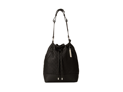 Vince Camuto - Malik Drawstring (Black) Shoulder Handbags