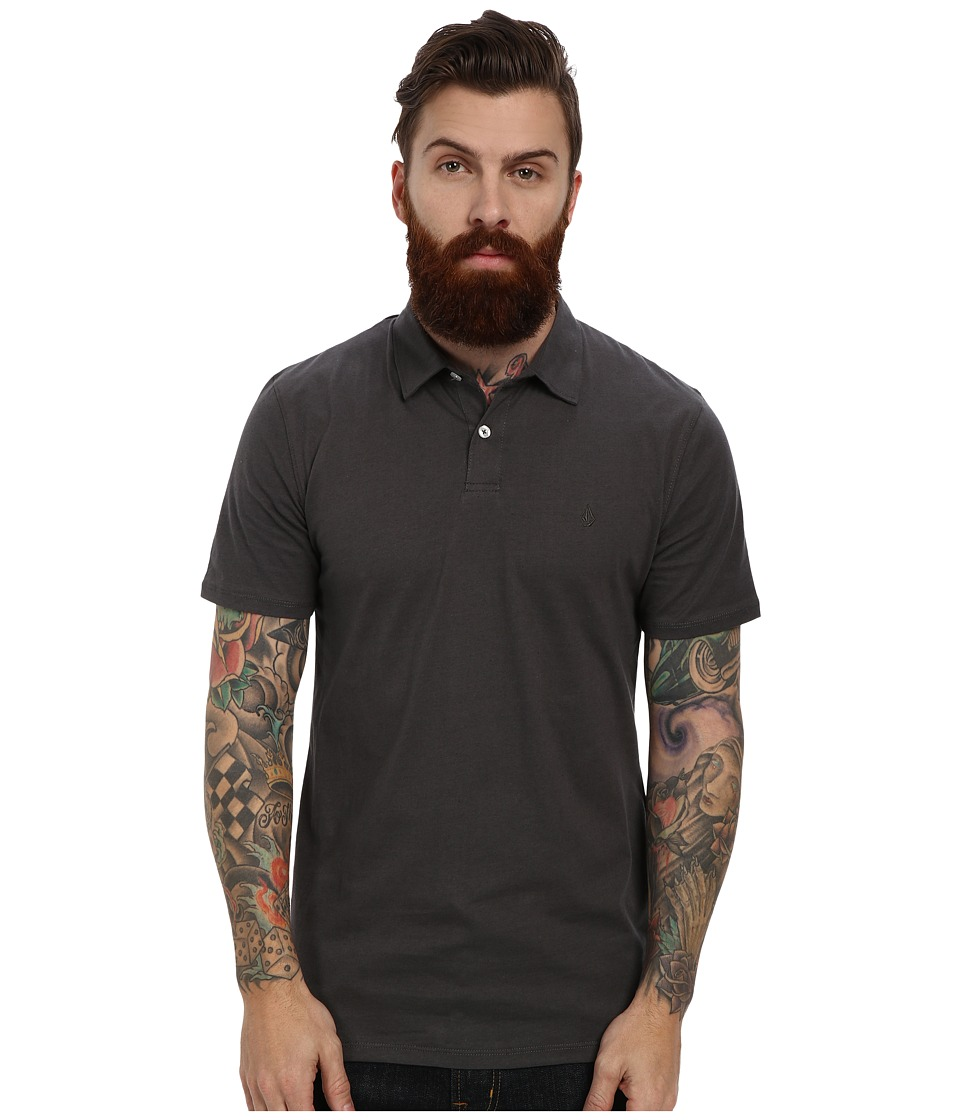 Volcom - Wowzer Polo (Dark Grey) Men