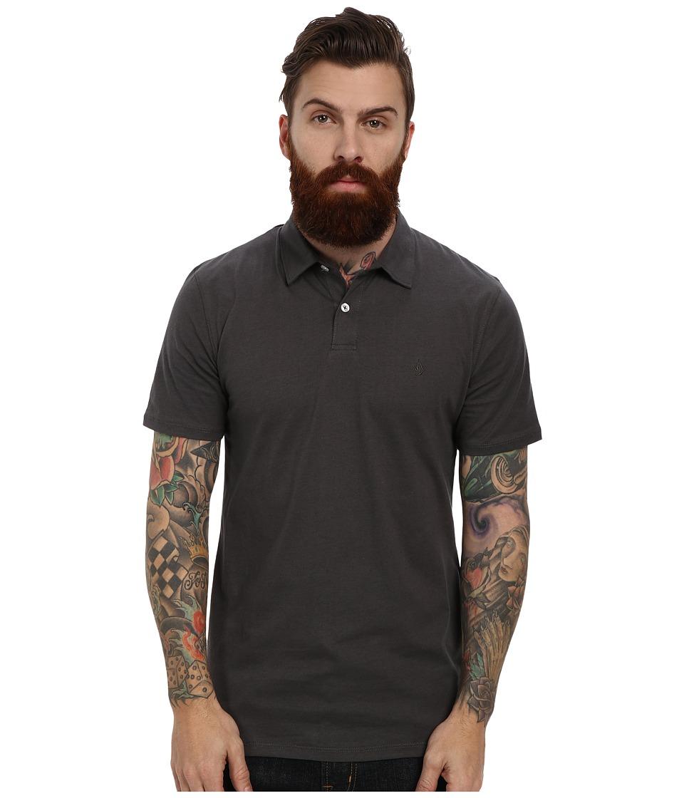 Volcom - Wowzer Polo (Dark Grey) Men's Short Sleeve Knit