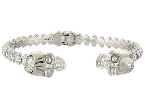 Alexander McQueen - Skull Bracelet (Crystal Silver) Bracelet