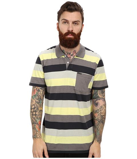 Volcom - Sutton Polo (Dark Grey) Men's Short Sleeve Knit