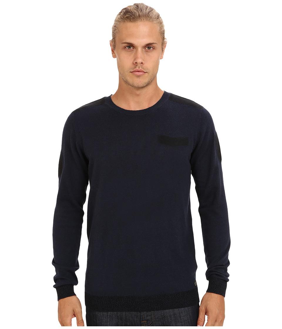 Diesel - K-Ane Sweater (Midnight/Blue) Men