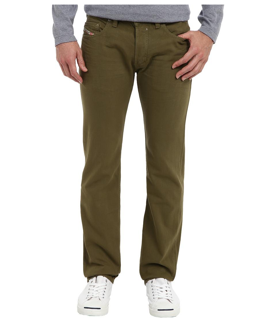 Diesel - Safado Straight 0834J (Green) Men's Casual Pants