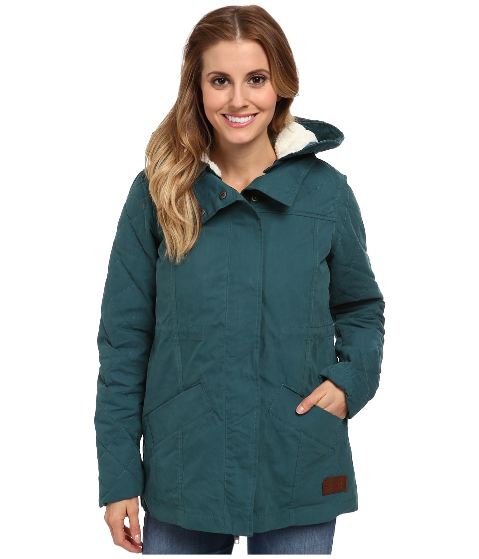 Vans - Manor Parka (Deep Teal) Women's Coat