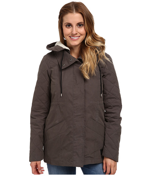 Vans - Manor Parka (Charcoal) Women's Coat