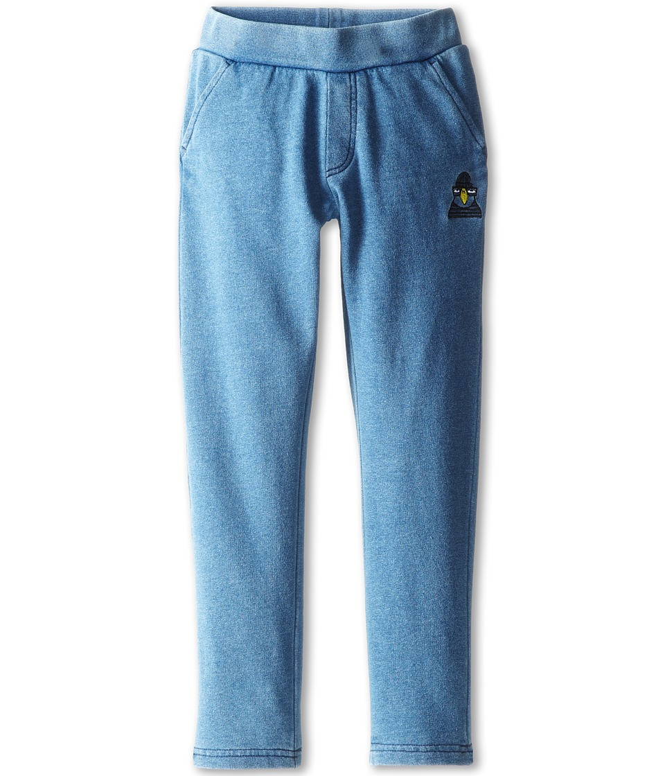 Little Marc Jacobs - Jogginf Pant with Details (Little Kid/Big Kid) (Blue) Boy's Casual Pants