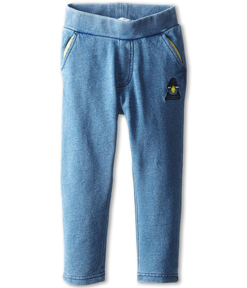Little Marc Jacobs - Jogginf Pant with Details (Toddler/Little Kid) (Blue) Boy's Casual Pants