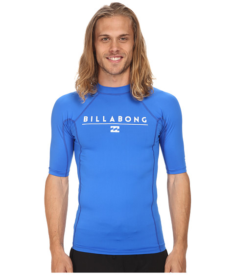 Billabong - All Day S/S Rashguard (Royal 3) Men