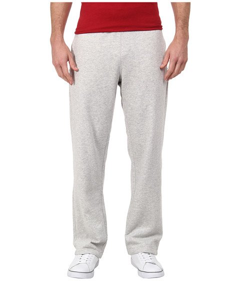 Nautica - Chief Value Cotton Pant Knit Bottom (Grey Heather) Men's Casual Pants