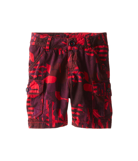 Little Marc Jacobs - Printed Cargo Shorts (Toddler/Little Kid) (Red Print) Boy's Shorts