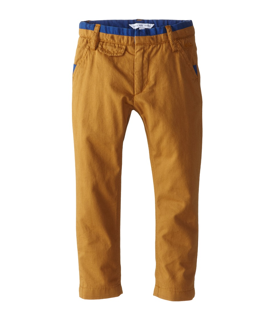Little Marc Jacobs - Color Block Pants (Toddler/Little Kid) (Beige) Boy's Casual Pants