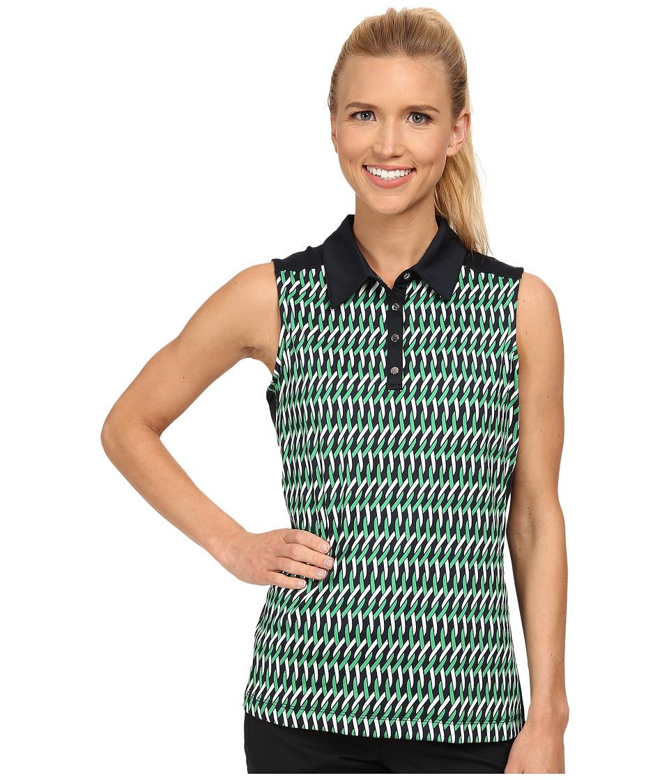 Tail Activewear - Harper Performance Jersey (Nantucket Weave Print) Women's Sleeveless