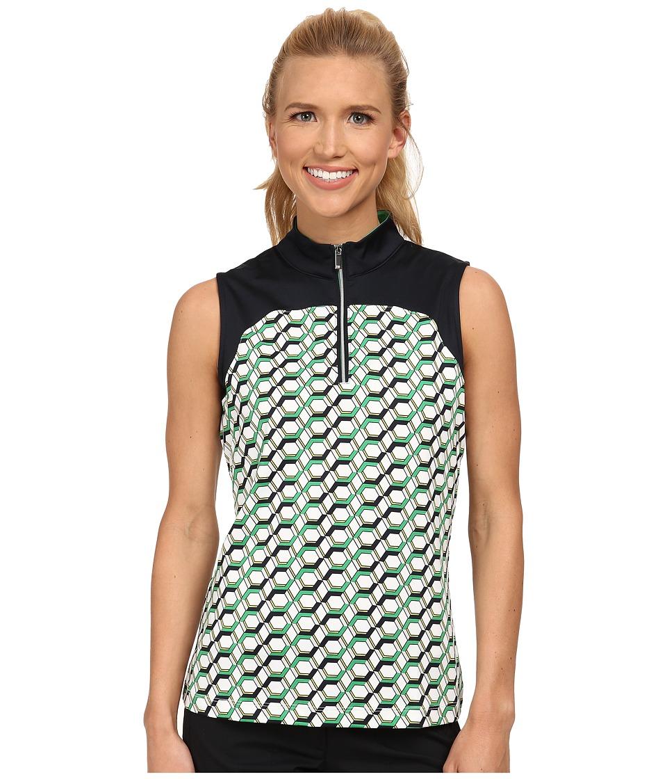 Tail Activewear - Melina Performance Jersey (Hexagon Print) Women's Sleeveless