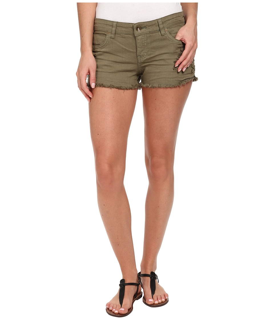 Billabong - Lite Hearted - Side Tie Shorts (Seagrass) Women's Shorts
