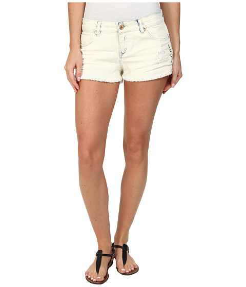 Billabong - Lite Hearted - Side Tie Short (Coolwater) Women