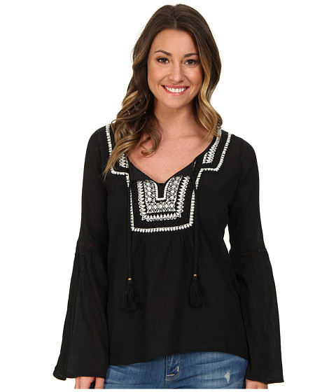 Billabong - Sandy Dayz Woven Top (Off Black) Women