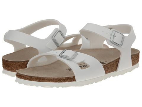 Birkenstock - Rio (White Birko-Flor) Women's Sandals