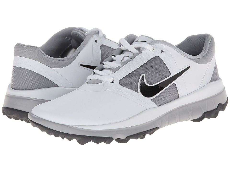 Nike Golf - FI Impact (White/Wolf Grey/Dark Grey/Black) Women's Golf Shoes