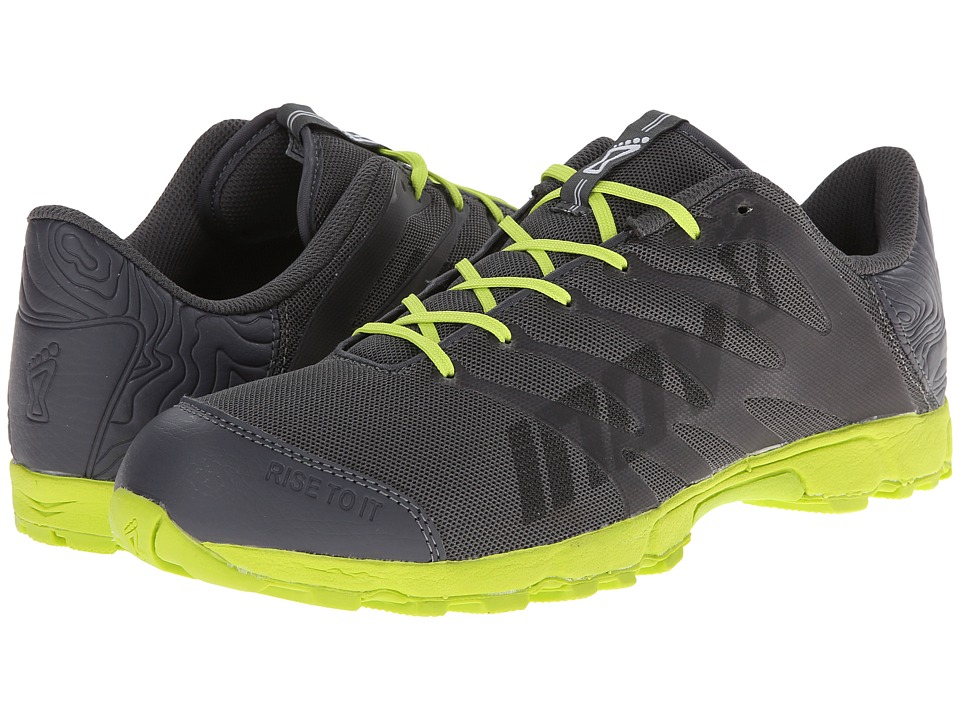 inov-8 - F-Lite 230 (Grey/Lime) Running Shoes