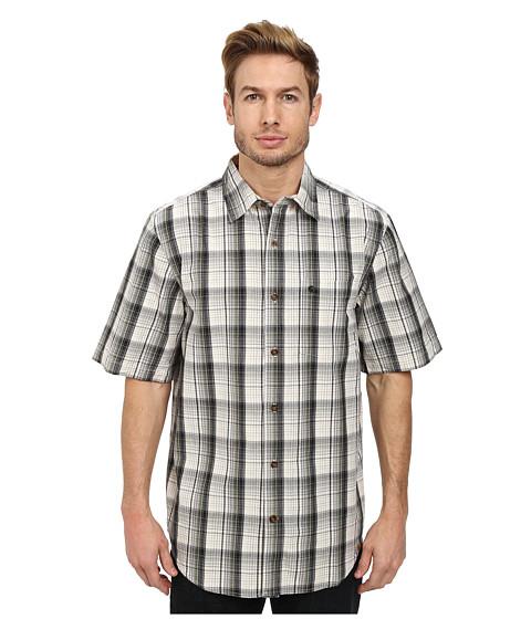 Carhartt - Essential Plaid Open Collar S/S Shirt (Natural) Men
