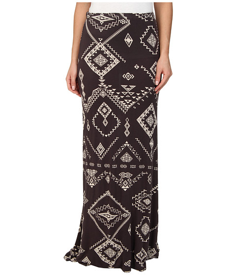 Billabong - Cant Help It Maxi Skirt (Off Black) Women's Skirt