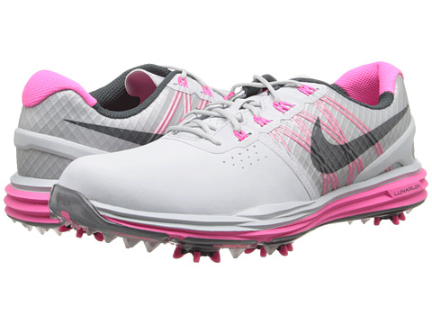 Nike Golf - Lunar Control (Pure Platinum/Pink Pow/Classic Charcoal) Women's Golf Shoes